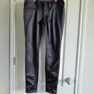 True Religion Stella Black Shimmery Pants